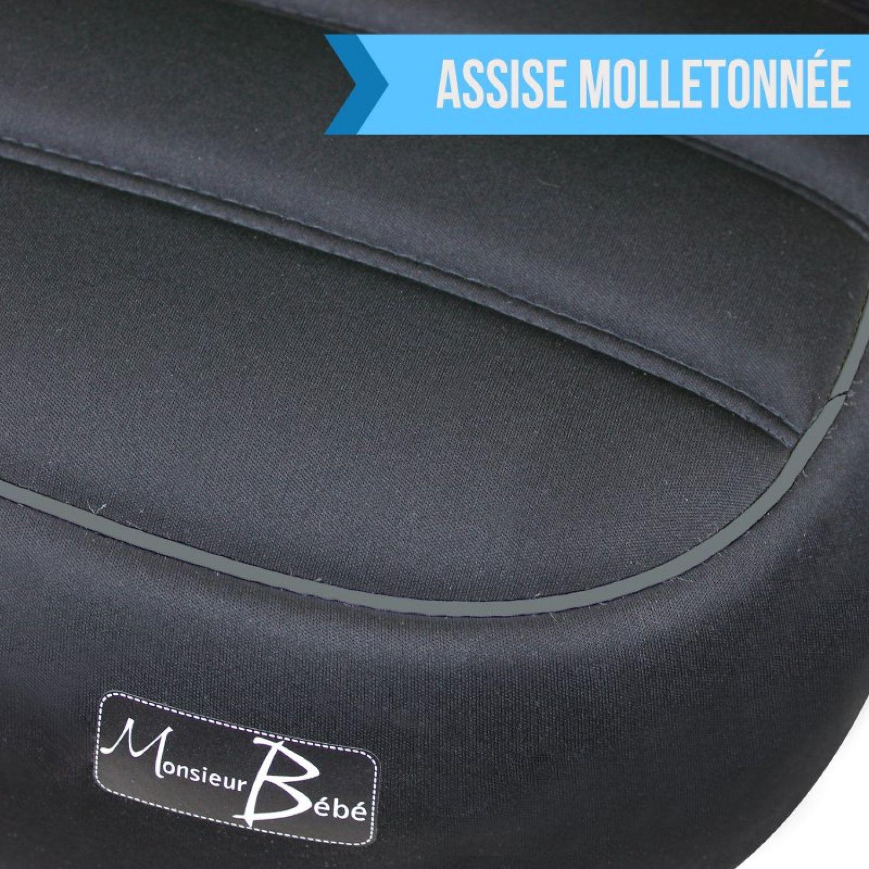 MONSIEUR-BEBE-SIEGE-AUTO-REHAUSSEUR-GR-2-3-DE-15-A-36-KG-Voiture miniature 12
