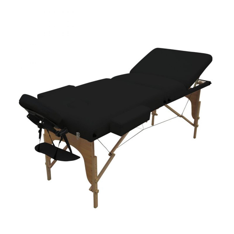VIVEZEN-TABLE-DE-MASSAGE-13-CM-PLIANTE-3-ZONES-EN-BOIS-Pliable-Portable miniature 14
