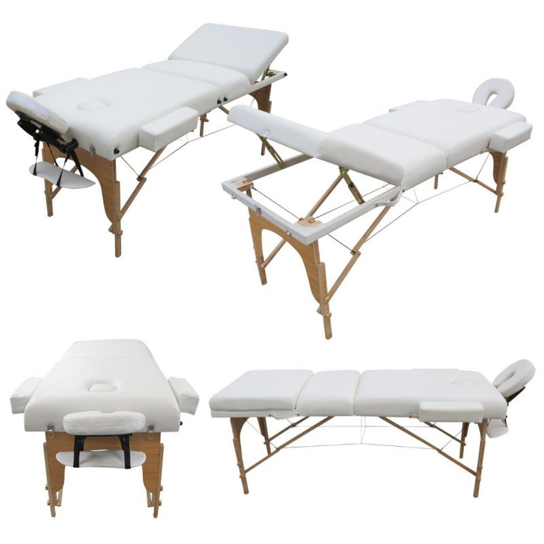 VIVEZEN-TABLE-DE-MASSAGE-13-CM-PLIANTE-3-ZONES-EN-BOIS-Pliable-Portable miniature 11