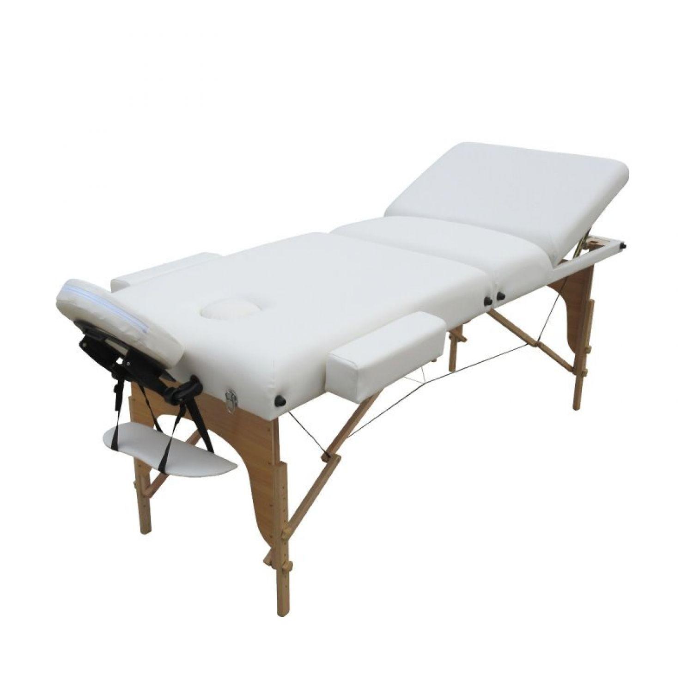 VIVEZEN-TABLE-DE-MASSAGE-13-CM-PLIANTE-3-ZONES-EN-BOIS-Pliable-Portable miniature 8