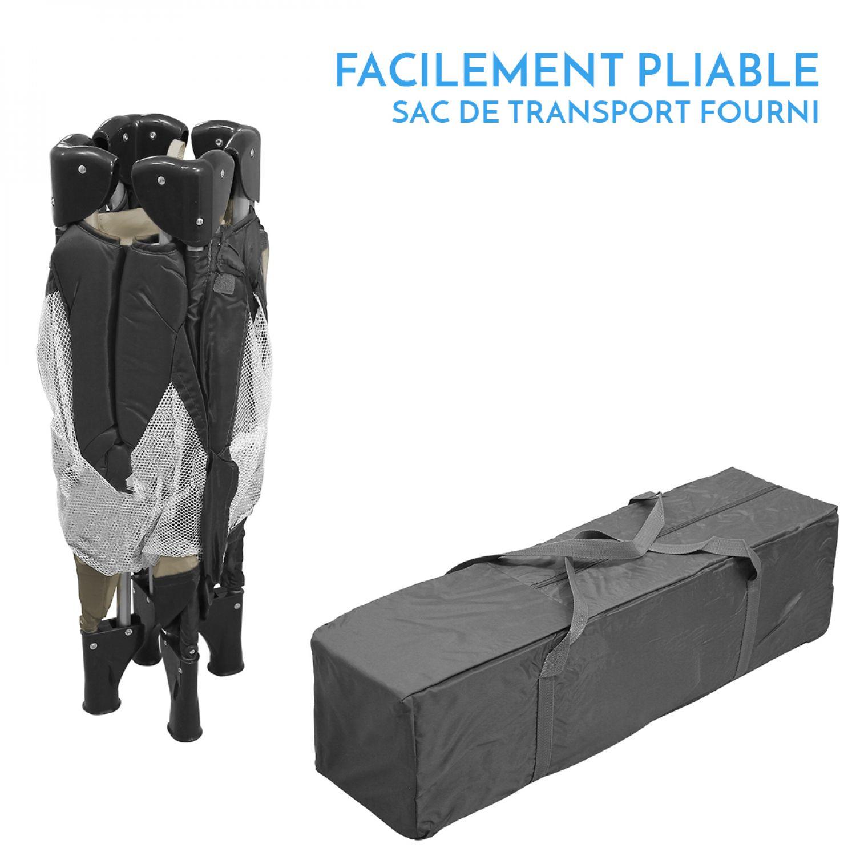 miniature 30 - MONSIEUR BÉBÉ ® PARC PLIABLE 90CM X 90CM + MATELAS / Pliant Parapluie Voyage