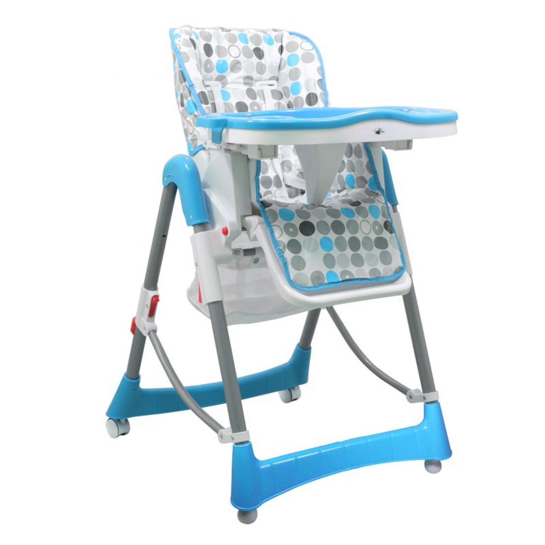 miniature 3 - MONSIEUR BEBE ® CHAISE HAUTE ENFANT PLIABLE RÉGLABLE HAUTEUR DOSSIER ET