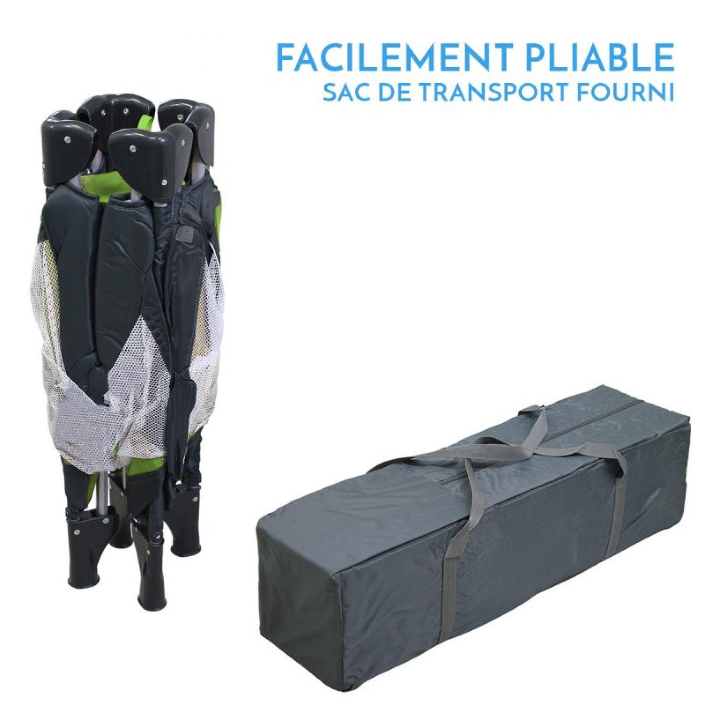 miniature 25 - MONSIEUR BÉBÉ ® PARC PLIABLE 90CM X 90CM + MATELAS / Pliant Parapluie Voyage