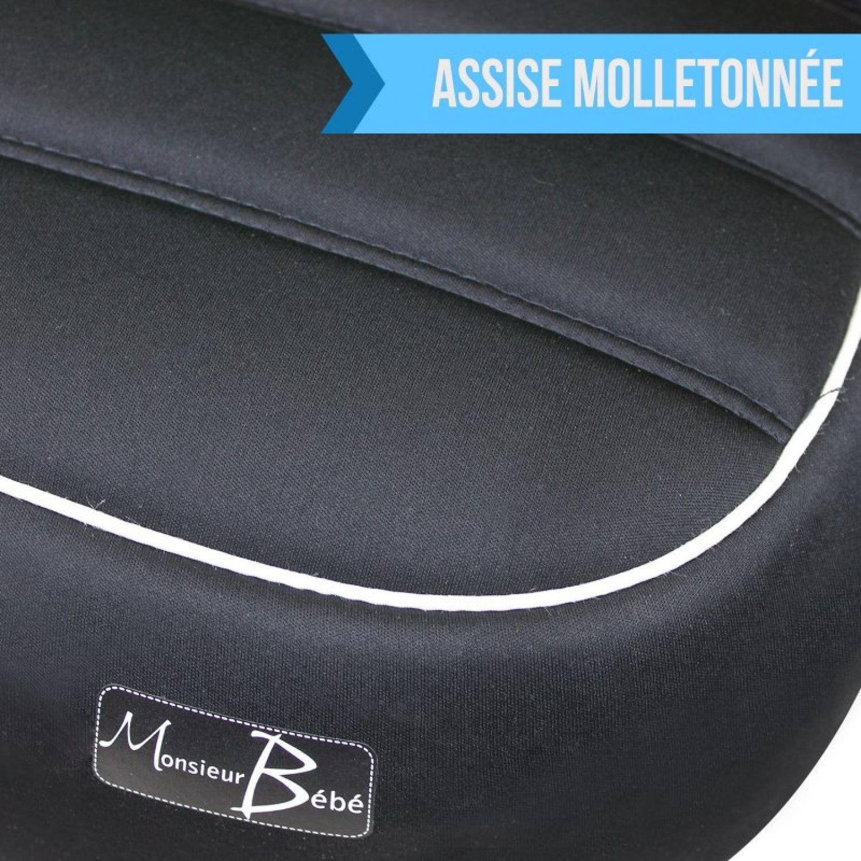 MONSIEUR-BEBE-SIEGE-AUTO-REHAUSSEUR-GR-2-3-DE-15-A-36-KG-Voiture miniature 6