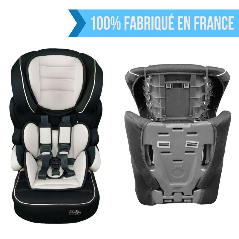MONSIEUR-BEBE-SIEGE-AUTO-ET-REHAUSSEUR-GROUPE-1-2-3-Cosi-Enfant miniature 12