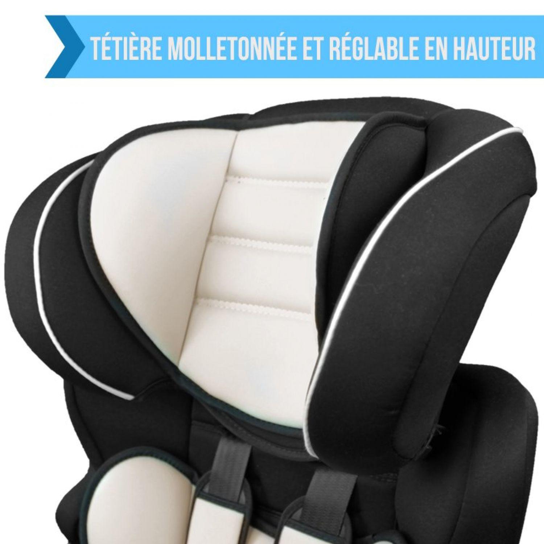 MONSIEUR-BEBE-SIEGE-AUTO-ET-REHAUSSEUR-GROUPE-1-2-3-Cosi-Enfant miniature 14