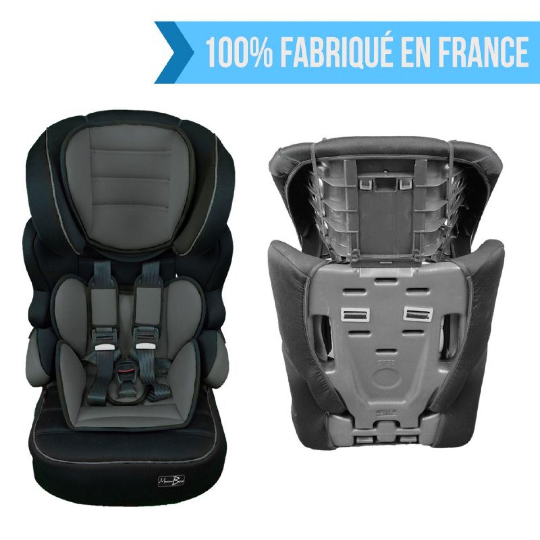MONSIEUR-BEBE-SIEGE-AUTO-ET-REHAUSSEUR-GROUPE-1-2-3-Cosi-Enfant miniature 20