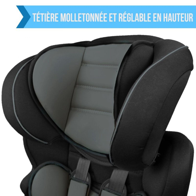 MONSIEUR-BEBE-SIEGE-AUTO-ET-REHAUSSEUR-GROUPE-1-2-3-Cosi-Enfant miniature 22