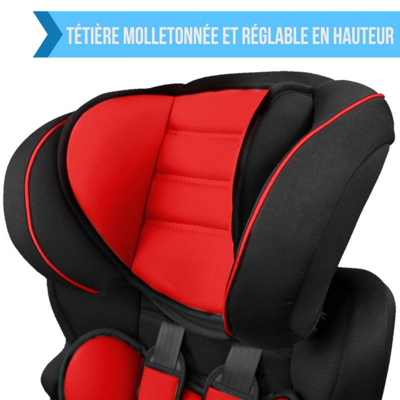 MONSIEUR-BEBE-SIEGE-AUTO-ET-REHAUSSEUR-GROUPE-1-2-3-Cosi-Enfant miniature 30