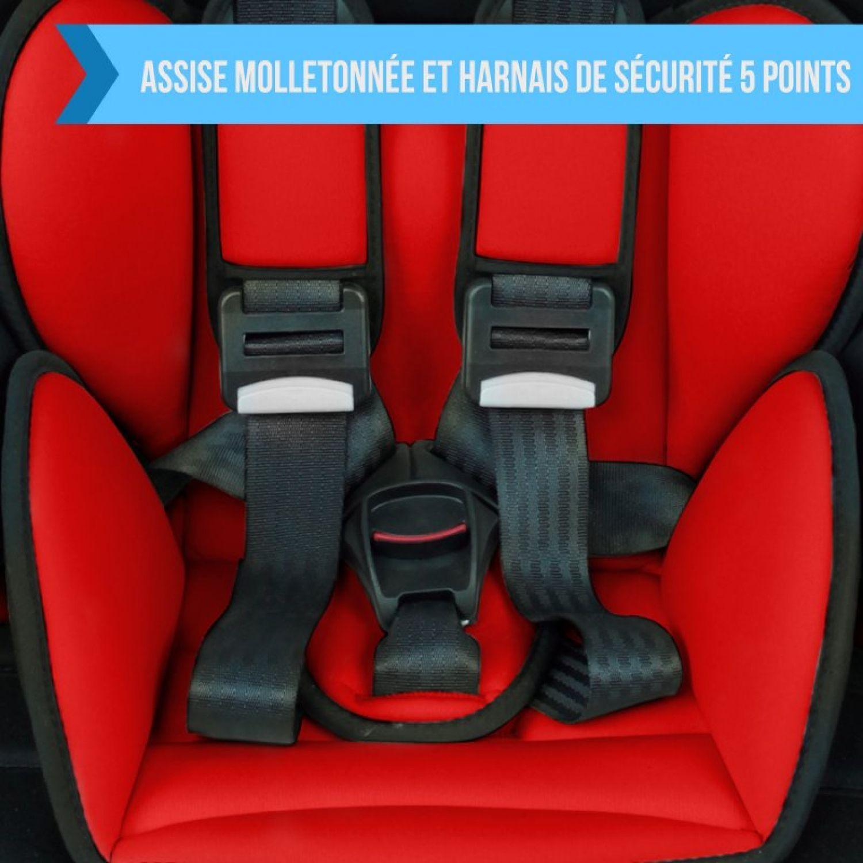 MONSIEUR-BEBE-SIEGE-AUTO-ET-REHAUSSEUR-GROUPE-1-2-3-Cosi-Enfant miniature 29