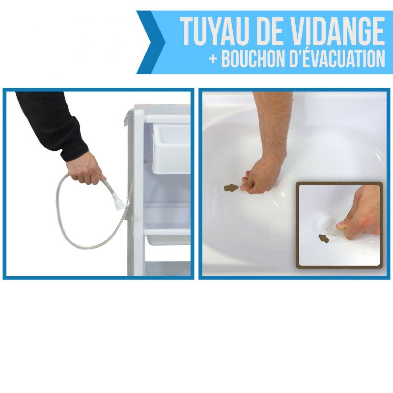 miniature 12 - MONSIEUR BÉBÉ ® TABLE À LANGER AVEC BAIGNOIRE INTÉGRÉE ET RANGEMENTS /