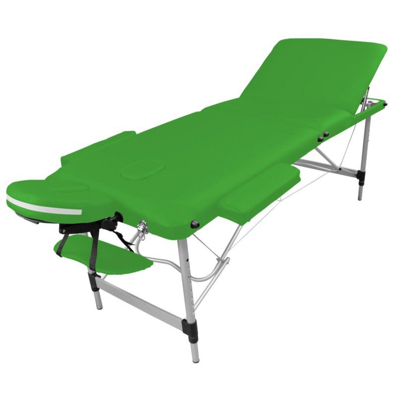 Details about Vivezen ® folding massage table 6 zones aluminium/folding  portable- show original title